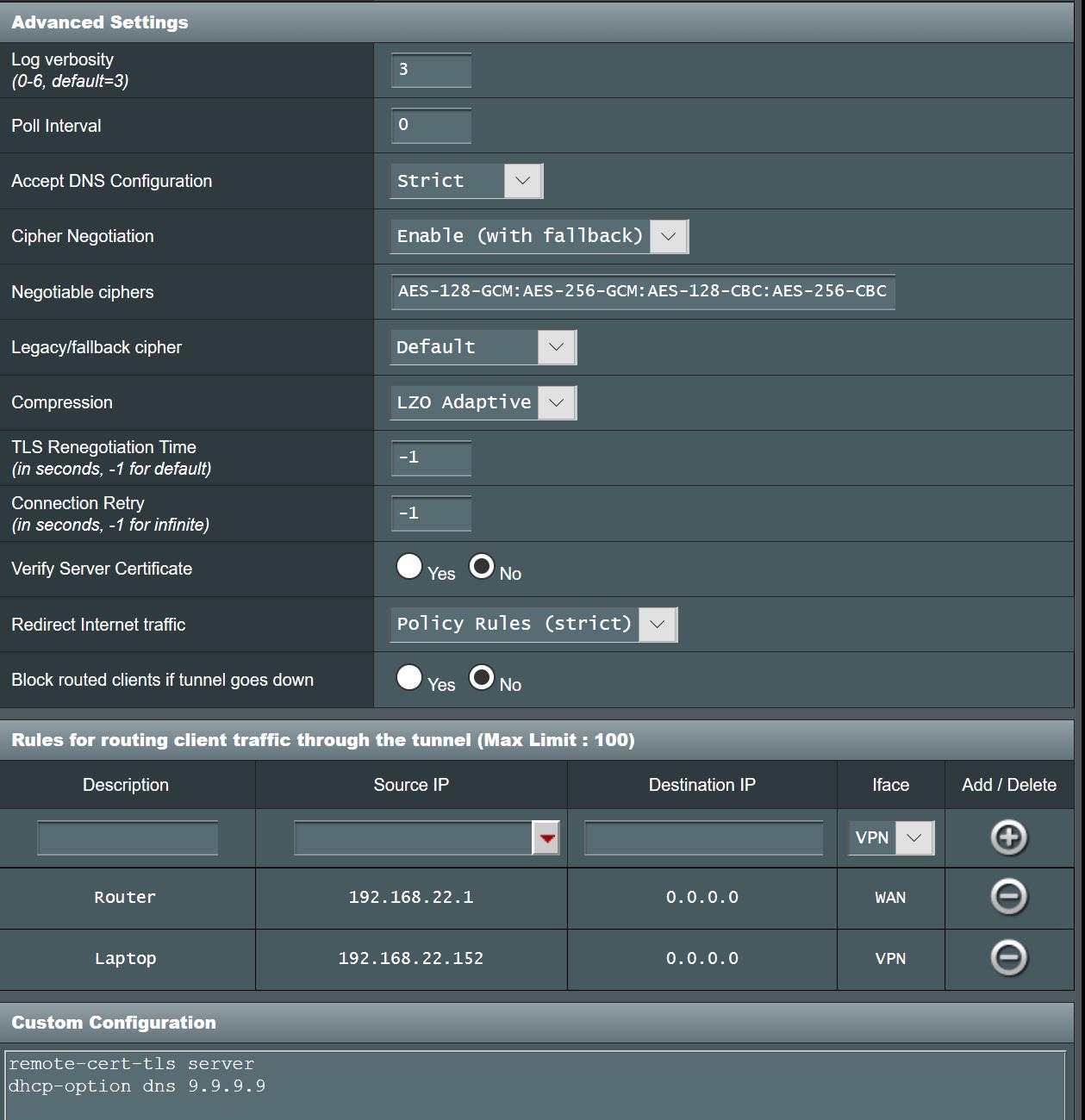 TorGuard OpenVPN 2 4 Client Setup for Asuswrt-Merlin Firmware